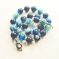 Preview: Collier bleu agate