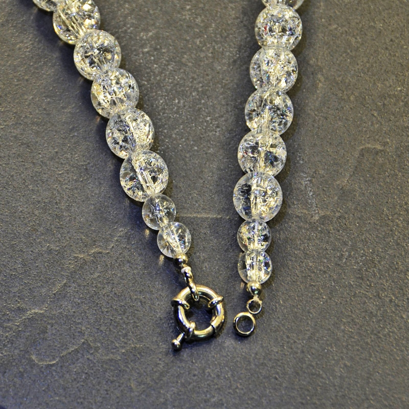 Bergkristall gefrosted Motion Collier